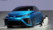 Un peu d'avance pour la Toyota à hydrogène