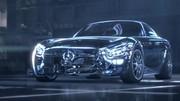 Future Mercedes-AMG GT 2015 : 503 chevaux pour le V8 4,0 litres
