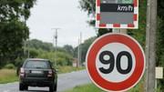 Limitation à 80 km/h : seulement sur certaines zones
