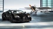La Bugatti Veyron Black Bless avionne sur la route…