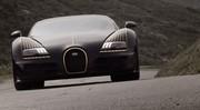 La Bugatti Veyron Vitesse Black Bess en liberté