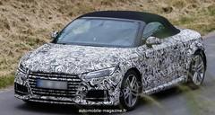 Future Audi TT Roadster : Hors de sa cachette