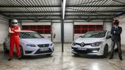 Essai Seat Leon Cupra VS Renault Mégane RS