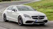 Mercedes CLS restylée (2014)