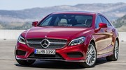 Mercedes CLS restylée : La voici