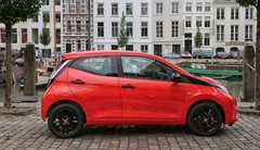 Essai nouvelle Toyota Aygo finition x-clusiv