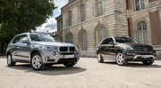 Essai BMW X5 25d vs Mercedes ML 250 BlueTEC : le match des 4 cylindres !