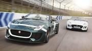 La version de série de la Jaguar Project 7 à Goodwood