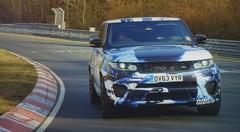 Range Rover Sport SVR 2014 : une version sportive de 550 ch à l'horizon
