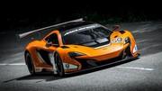 McLaren 650S GT3 : elle fait trembler Goodwood