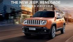 Jeep : une série spéciale Opening pour le Renegade
