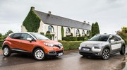 Essai Citroën C4 Cactus vs Renault Captur : le catch de crossover (2014)