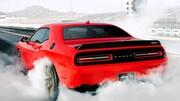 La Dodge Challenger SRT Hellcat promet 716 ch !