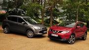 Essai Ford Kuga 2 vs Nissan Qashqai 2 : Crossover ou SUV ?