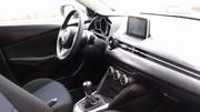 L'intérieur de la future Mazda2 au grand jour