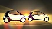 Futures Smart Forfour et Fortwo : nouveau teasing vidéo