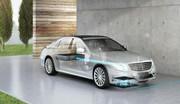 Mercedes (avec BMW) expérimente la recharge sans fil