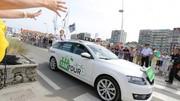 Tour de France 2014 : une journée en VIP avec Skoda