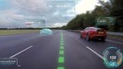 Pare-brise virtuel et guidage laser pour Jaguar et Land Rover