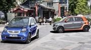 Nouvelles Smart Fortwo et Forfour 2014 : photos et infos officielles