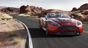 Aston V12 Vantage S Roadster : vitesse et brushing