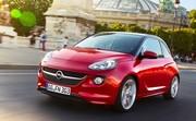 L'Opel Adam reçoit un nouveau trois cylindres