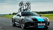 Une F-Type R Coupé unique pour le Tour de France dévoilée par Jaguar