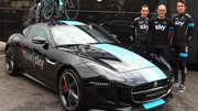 Jaguar customise son F-Type R Coupé pour la Team Sky