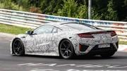 La nouvelle Honda NSX en plein échauffement sur le Nürburgring