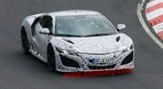 Surprise : la future Honda NSX sur le Nürburgring