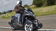 Essai du scooter à trois roues Yamaha 125 Tricity