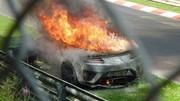 La Honda NSX II réduite en cendres