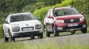 Essai : La Dacia Sandero Stepway malmène la Citroën C4 Cactus
