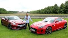 Essai Jaguar F-Type Coupé R vs Nissan GT-R : Avions de route