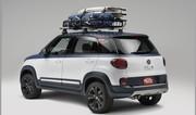 Fiat 500L Vans Concept : le petit monospace des surfeurs