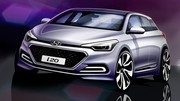 La Hyundai i20 se révèle par croquis