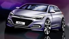 Hyundai i20 (2015) : premiers dessins avant le Mondial de Paris