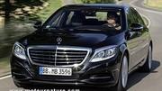 La Mercedes hybride rechargeable est disponible
