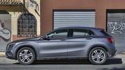 Prix Mercedes GLA 180 CDI : Léger effort