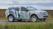 Le futur Land Rover Discovery Sport en pleine action