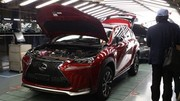 Lexus : début de la production du NX