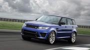 Le Range Rover Sport SVR fait enfin son apparition officielle