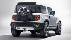 """Futur Land Rover Defender: le style """"gelé"""""""