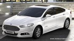 Officiel, une Ford Mondeo hybride à 99 g/km de CO2