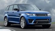 Les performances mises en avant sur le Range Rover Sport SVR