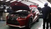 Lexus NX : la production a démarré dans l'usine de Miyata au Japon
