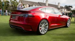 Pebble Beach 2014: Saleen Tesla FourSixteen