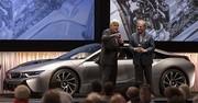 Grand succès de la BMW i8 à Pebble Beach
