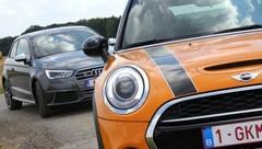 Essai Audi S1 vs Mini Cooper S : Petites frétillantes !