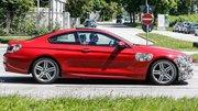 La BMW Série 6 restylée surprise sur la route